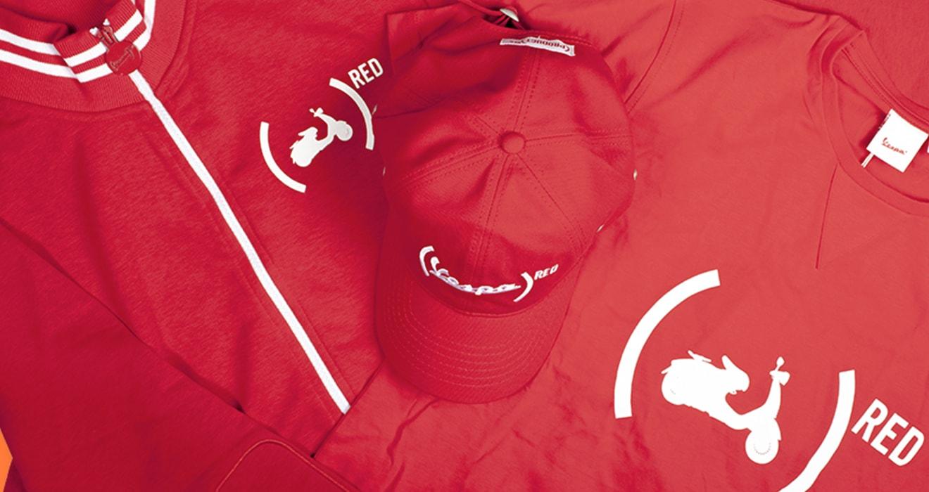 Abbigliamento per il Tempo Libero <b>VESPA RED</b>