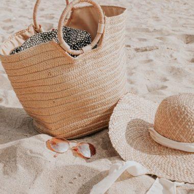 Materiali intrecciati per borse mare e accessori